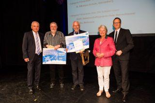 Siegerehrung für den Sportabzeichen-Wettbewerb 2014