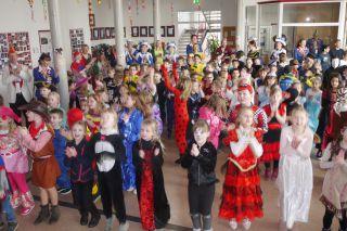 Karneval in der St.-Nikolaus-Schule