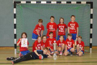 Handball-Turnier der Sassenberger Grundschulen